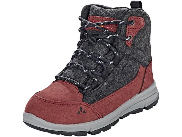 VAUDE UBN Kiruna Mid CPX - Chaussures Enfant - gris/rouge
